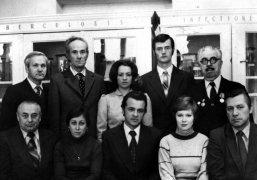 Колектив курсу патологічної анатомії 1981р